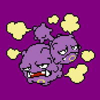 110 Weezing by jokernaiper