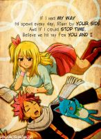By your side |NaLu| by HinamoriMomo21