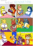 Comic - the New generations by SuperSaiyanCrash