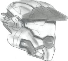 Halo Reach: carter's helmet by FireWolfMaster