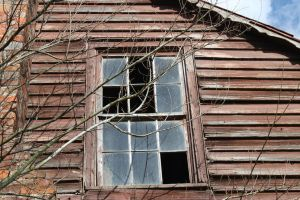 Old Broken Window Stock by SalemCatStock