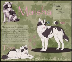 Maisha - ref sheet by Sharaiza