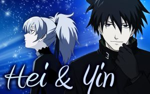 Hei and Yin by CaptainLaser