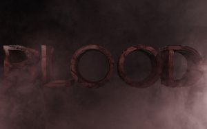 """BLOOD"" Title by AQWmim"