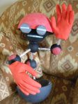 Orbot hand puppet by EUAN-THE-ECHIDHOG