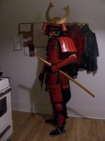 full samurai costume: late by Outlaw-Tiger
