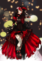 MH-Next Top Monster - Haute Couture by RavenNoodle
