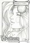 FREE Aphrodite ix Sketch by Carl-Riley-Art