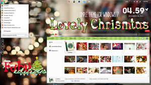 Lovely Christmas {Tema de windows 7} by fabii27