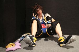 KH: Sora by kura-and-something
