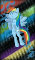 Rainbow Dash is happy by ReadToasts
