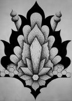 Dotwork #3 by Transcendentalny-P