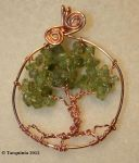 Tree of Life Pendant by Tarquinia