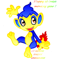 HAPPY CHINESE MONKEY YEAR ! by HOBYMIITHETACTICIAN