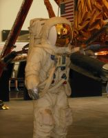 Neil Armstrong's Spacesuit by rlkitterman