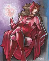Marvel Universe 2011 AP: Scarlet Witch by skardash