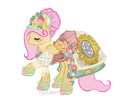 French Haute Couture for Fluttershy by RequiemBelle