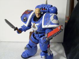 warhammer 40k custom veteran by soulbrother73
