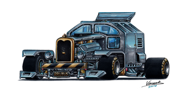 Killer Truck Brutus by vsdesign69