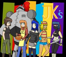 The JK's Cast by fretless94