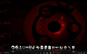 Rainmeter Sharingan animated start orb 5 Actions by The1StraightShooter