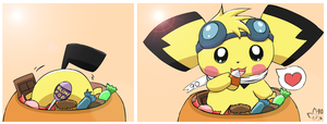 Favorite Candy by pichu90