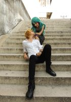 Haruka x Michiru - Cosplay Session 05 by Bahamut-Eternal