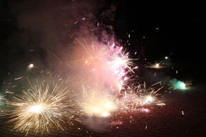 Fireworks Stock 50 by Malleni-Stock