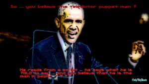 Obama the Teledictor-president by OnlyTheGhosts