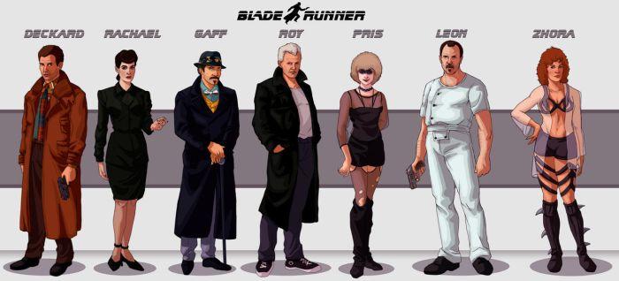 Blade Runner Lineup by Deimos-Remus