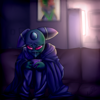 A moment to ponder by SsKingdomsFury