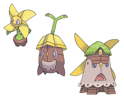 Pinwheel Pokemon by JoshKH92