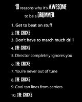 Why it's cool to be a Drummer by MichaelKnouff