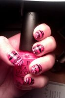 Tribal nail art by LittleMissTass