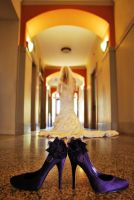Bride in Hall by SublimeBudd