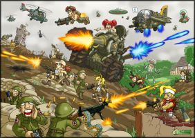 Metal slug mayhem by Metal-Slug-fanatics