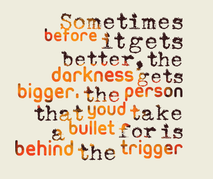 Behind the Trigger by MyChemicalPanicBoy