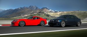 SRT Viper vs BMW M3 by RaynePhotography