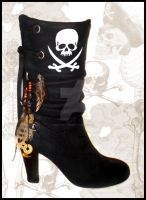 Pirate Boots by miss-bunny-shoes