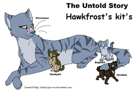Untold Story Hawkfrost Kits by good-within-u