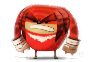 Daily Paint 701. Rouge le Enchilada by Cryptid-Creations