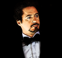 Robert Downey Jr Other Way by donvito62