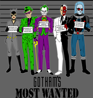 Gotham's Most Wanted by Mbecks14