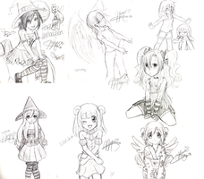 Sketch Dump 2008 by Dakotaa
