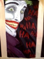 Painting Joker's On My Bag 2 by SuperheroObsessed