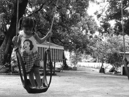 Enjoy your youth, little girl. by marieceleste