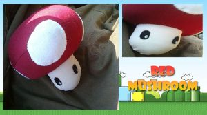 Mario: Red Mushroom by CelestialCrafts