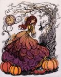 the Pumpkin Princess by La-Chapeliere-Folle