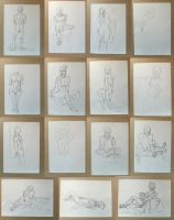 Nude Drawing Stash Clean-Up by Holmea