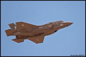 F-35 Linghtning Miramar 2014 by AirshowDave